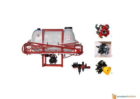 Traktorske prskalice 220, 330, 440, 700 litara