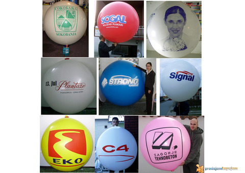 Kurs štampa na balonima, prodaja opreme i repromaterijala