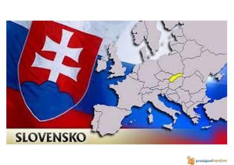 Slovacka na 3 meseca. 12 sati dnevno.