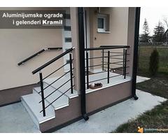 Aluminijumske ograde i gelenderi Kramil