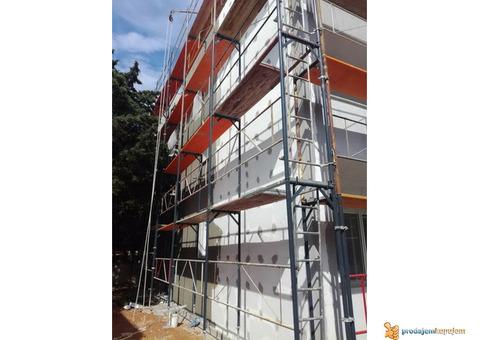 "Građevinsko preduzeće ""RAZNATI"" vrši izvođenje molersko-fasaderke radove"