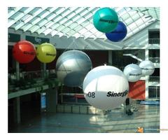 CEPELINI,velike lopte, reklama sa svetlom iznad grada, proda...