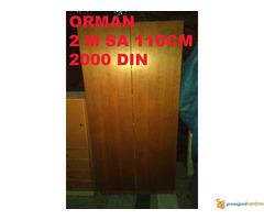 Prodajem Ormane razne velike i male. Od 1000 din do 3000