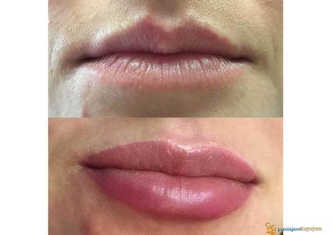 Trajna šminka usana