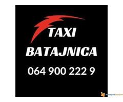 Taxi prevoz Batajnica - 064 900 222 9