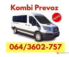 Kombi prevoz robe Batajnica - 064 360 27 57