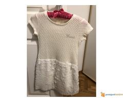 GUESS bela haljina za devojcice 8-10 god