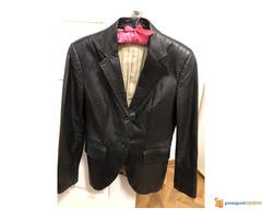 Massimo Dutti strukirana kozna jakna