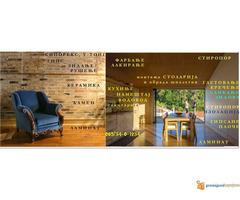 Renoviranje adaptacije stanova i lokala moleraj gips keramik...