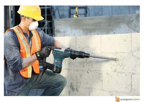 Bušenje rupa u betonu, štemovanje, razbijanje betona