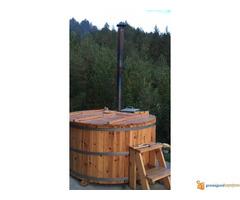 Hot tub,vruca kada na seoski nacin