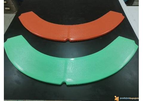 Sedalice od poliestera za ljuljaške i vrteške (stakloplastika)