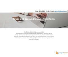 Izrada web sajtova po povoljnim uslovima