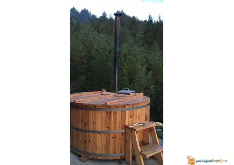 Hot tub ,Vruca kada na seoski nacin