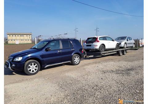 Šlep služba - transport vozila