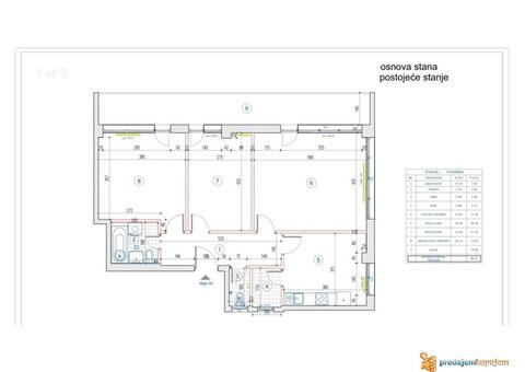 Jedinstven stan u ponudi Tasmajdan-Centar