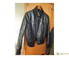 Kožna jakna kratka (broj 46,velicina S