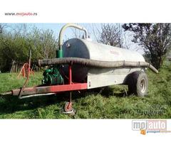 Cisterna pocinkovana traktorska 3600L