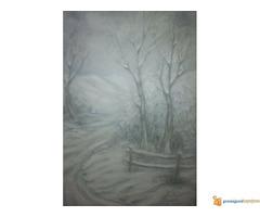 Umetnicka slika Zima