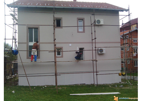 Majstori za Krecenje Gletovanje Fasade Rigips... Beograd Smederevo i okolina
