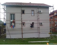 Majstori za Krecenje Gletovanje Fasade Rigips... Beograd Smederevo i okolina - Slika 1/4