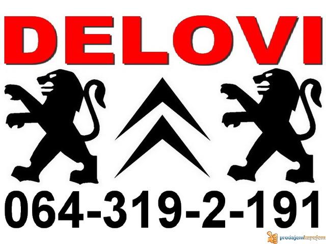 Peugeot DELOVI Citroen Pežo polovni i novi - 1/4