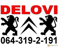 Peugeot DELOVI Citroen Pežo polovni i novi - Slika 1/4