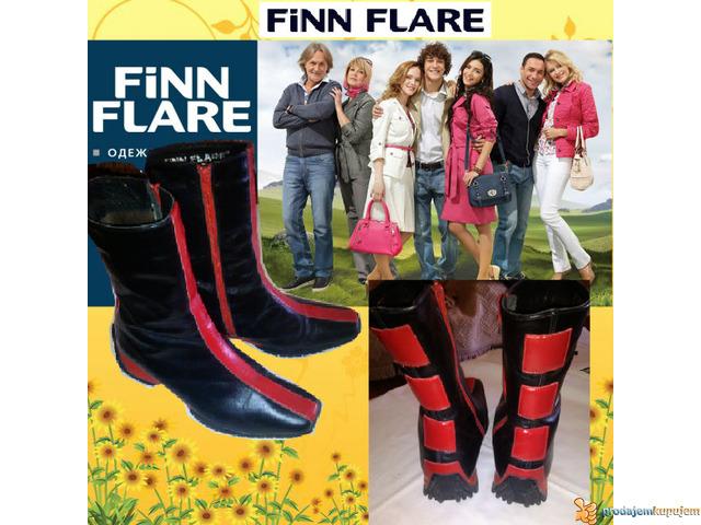 Kozne cizmice FINN FLARE Made in Serbia sl.5 - 2/5