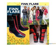 Kozne cizmice FINN FLARE Made in Serbia sl.5 - Slika 2/5