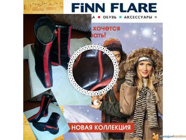 Kozne cizmice FINN FLARE Made in Serbia sl.5 - 3/5