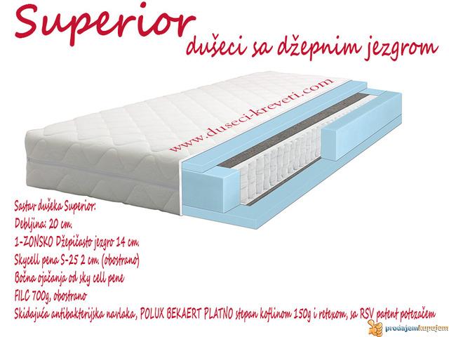 Dušek Superior 160x190/200 - 1/1