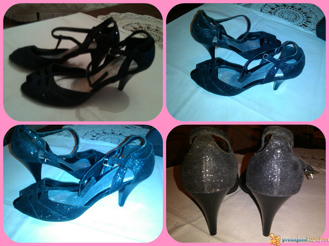 Nove sandale ALESSANDRO BONCIOLNI 37 sl.5 - 2/3