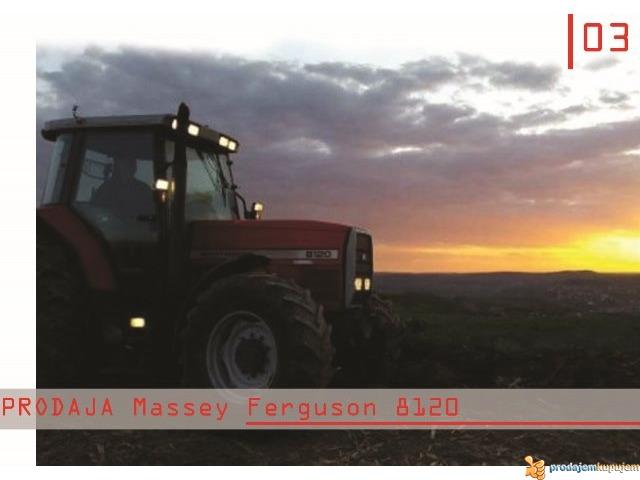 NA PRODAJU TRAKTOR Massey Ferguson 8120-N E P R O P U S T I T E - 4/4