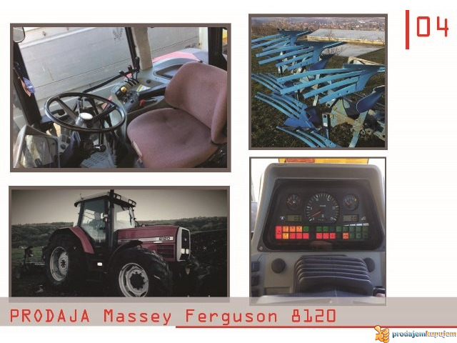 NA PRODAJU TRAKTOR Massey Ferguson 8120-N E P R O P U S T I T E - 3/4
