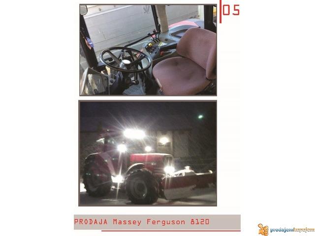 NA PRODAJU TRAKTOR Massey Ferguson 8120-N E P R O P U S T I T E - 2/4