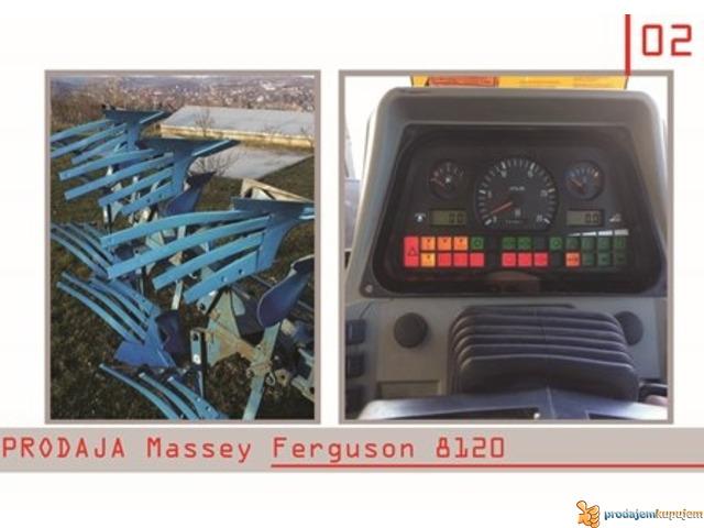 NA PRODAJU TRAKTOR Massey Ferguson 8120-N E P R O P U S T I T E - 1/4