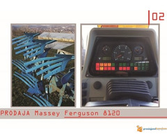 NA PRODAJU TRAKTOR Massey Ferguson 8120-N E P R O P U S T I ...