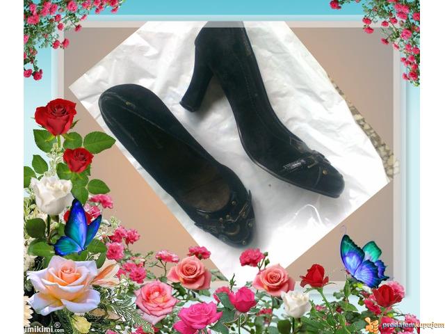 Crne cipele stikle br.39 sl.3 - 4/5