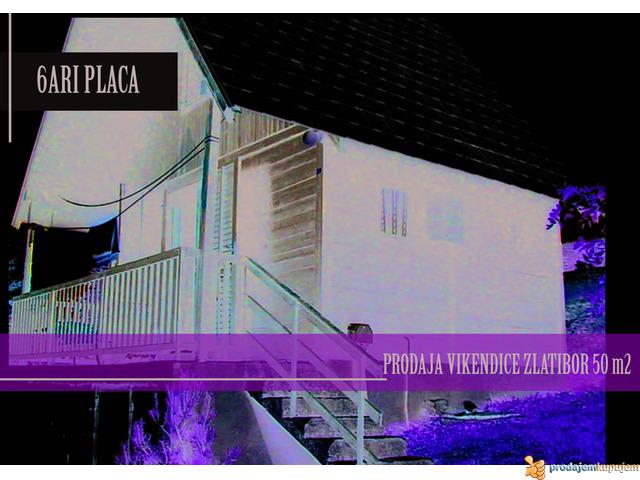 PRODAJA VIKENDICE NA ZLATIBORU 50m2-6 ARI PLACA - 1/3