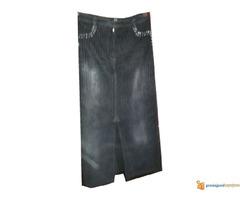 Atraktivna somot suknja sa cirkonima sl.10 - Slika 1/3