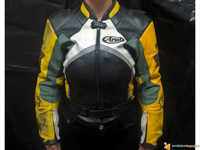 "FLM ""Greyhound"" kožna moto jakna - 1/5"