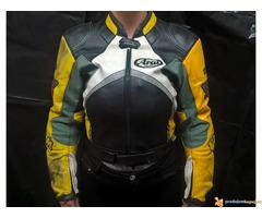 "FLM ""Greyhound"" kožna moto jakna"