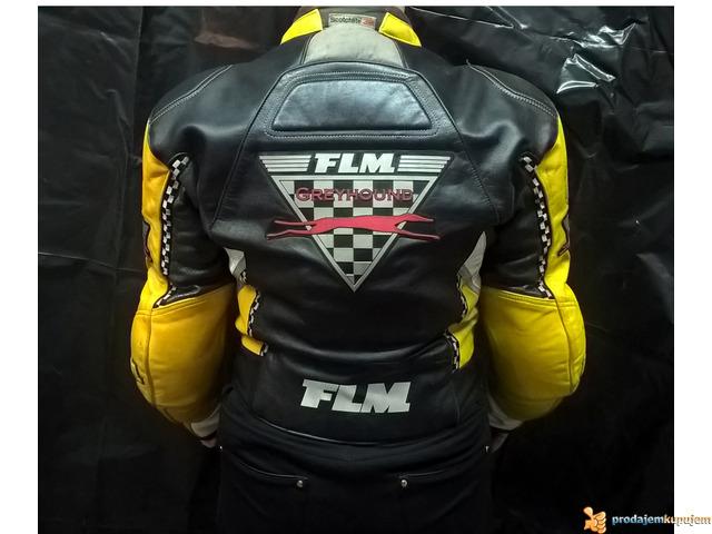 "FLM ""Greyhound"" kožna moto jakna - 2/5"