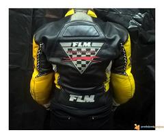 """FLM """"Greyhound"""" kožna moto jakna - Slika 2/5"""
