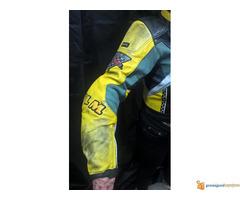 """FLM """"Greyhound"""" kožna moto jakna - Slika 3/5"""