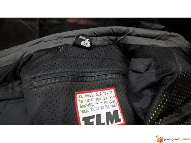 "FLM ""Greyhound"" kožna moto jakna - 5/5"