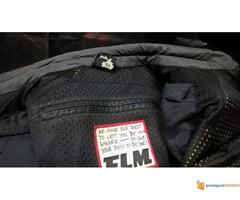 """FLM """"Greyhound"""" kožna moto jakna - Slika 5/5"""