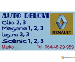 Polovni auto delovi Renault Sabac