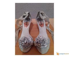 Srebrne sandale - Slika 2/2