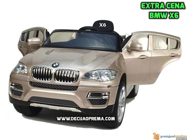 BMW X6 Auto na akumulator sa daljinskim upravljanjem Champagne - 1/2